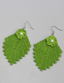 Pendentes Abacaxi - Verde