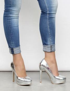 Zapatos Clair - Plata
