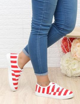 Zapatilhas Creamy-Rojo