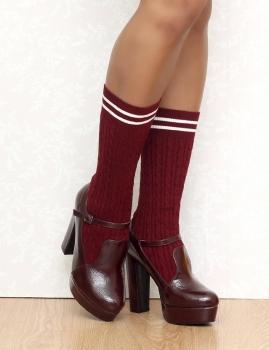 Zapatos LUKA- Bordo