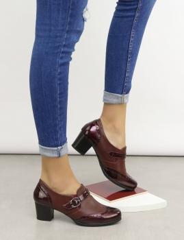Zapatos Abatia - Bordo