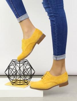 Zapatos Alpha - Amarillo