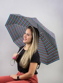Paraguas Zig Zag