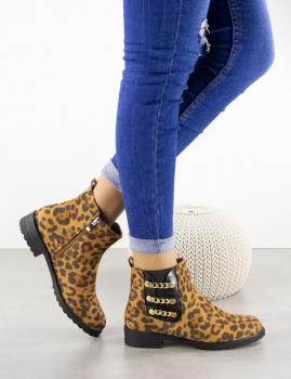 Botines Paquita - Leopardo