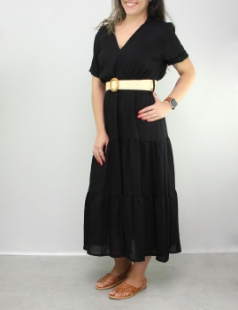 Vestido Bonequinha - Negro