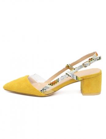 Zapatos Milena - Amarillo