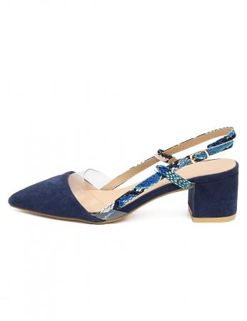 Zapatos Milena - Azul