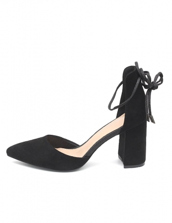 Zapatos Nassau - Negro