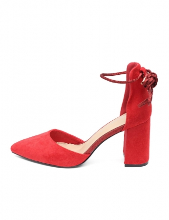 Zapatos Nassau - Rojo