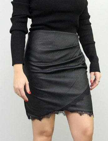 Falda Uva - Negro