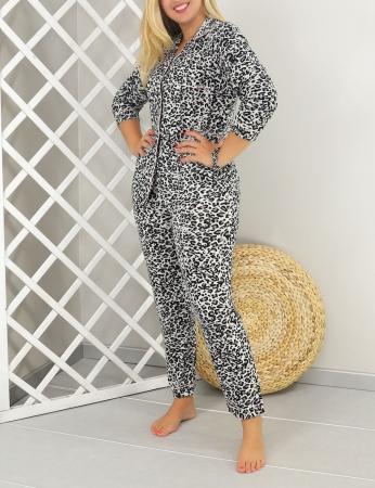 Pijama Agena - Negro