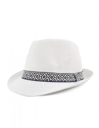 Sombrero Alfred - Blanco