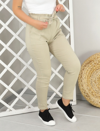 Pantalones Alicia - Beis