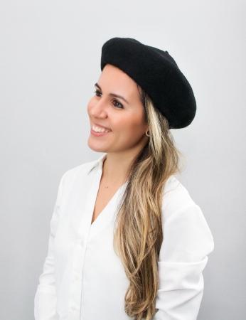 Boina Vinci - Negro