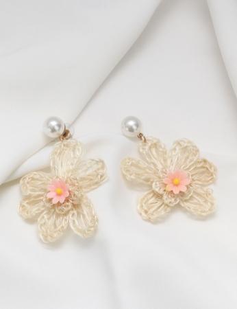 Pendentes Flower - Rosa