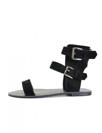 Sandalias Caricas - Negro