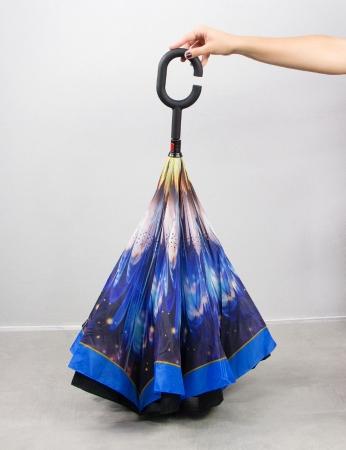 Paraguas Flor - Azul
