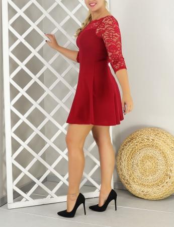 Vestido Dame - Rojo