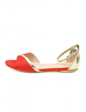 Sandálias Deli - Rojo