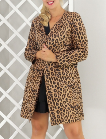 Abrigo Mariana - Leopardo