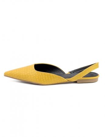 Zapatos Mints - Amarillo