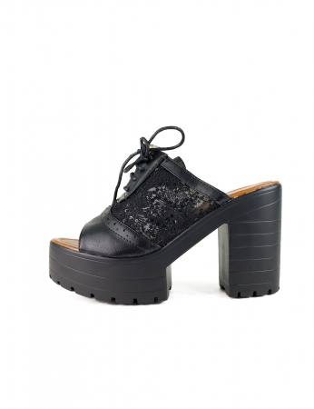 Zapatos Mints - Negro