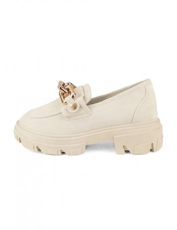 Zapatos Oceania - Beis
