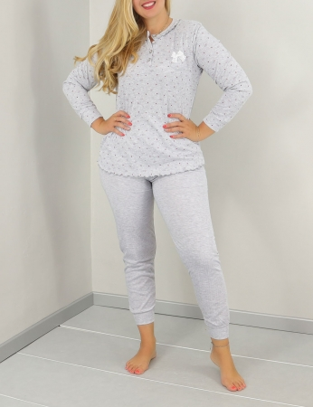 Pijama Pandy - Gris