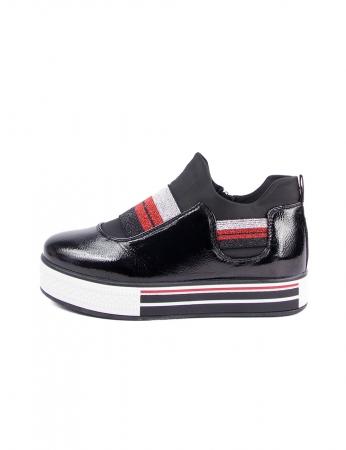 Zapatillas Ricky - Negro
