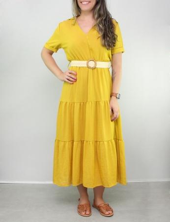 Vestido Bonequinha - Amarillo