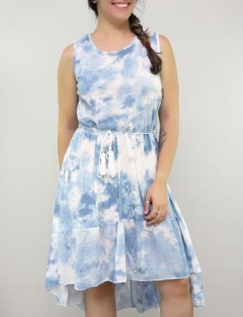 Vestido Random - Azul