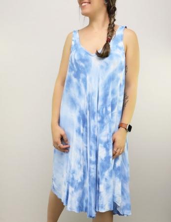 Vestido Tely - Azul