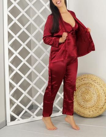 Pijama Zeneide - Bordo